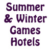 Winter & Summer Games Hotel Rooms